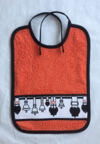 Binde-Lätzchen Glockenstolz - Mühlihäxli
