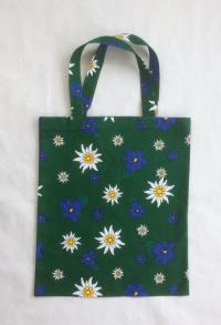 einfache Einkaufstasche Edelweiss / Enzian