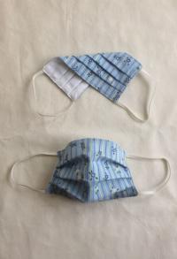 Gesichtsmaske in hellblau für Erwachsene
