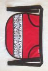 Chlämmerlisack rot im Scherenschnitt-Look