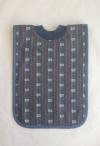 Edelweiss Schlupf-Lätzchen jeansblau