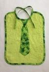 Krawatten Lätzchen Frösche kiwigrün