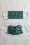 Gesichtsmaske in grün für Erwachsene