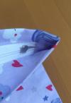 Kissenbezug mit verdecktem Reissverschluss (Kundenauftrag)