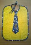 Krawatten Lätzchen Oldtimer gelb