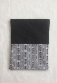 Bezug für Chlämmerlisack Edelweiss grau/schwarz